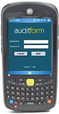 AuditForm Application